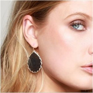 Jewelry - LAST PAIR! Wine Mandala Teardrop Earrings
